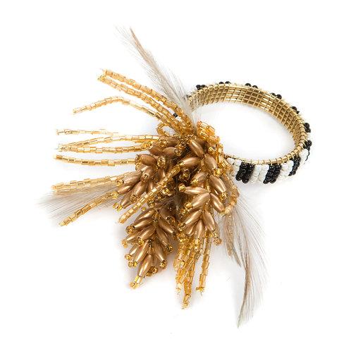 wheat napkin ring