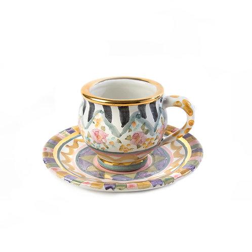 Bazaar Espresso Cup & Saucer