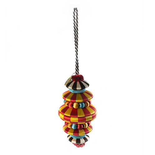 Lolo Tassel - Red & Gold