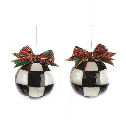 jester fancy ornaments - large - set of 3