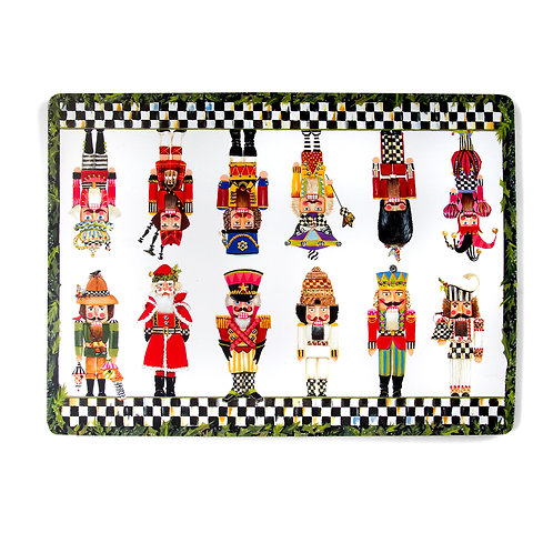 nutcracker brigade cork back place mats - set of 4