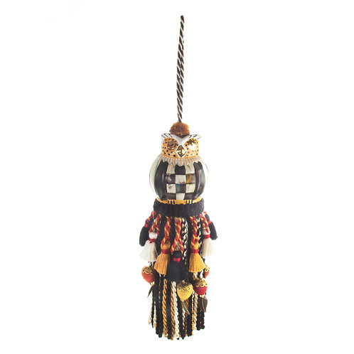 owl tassel - courtly check