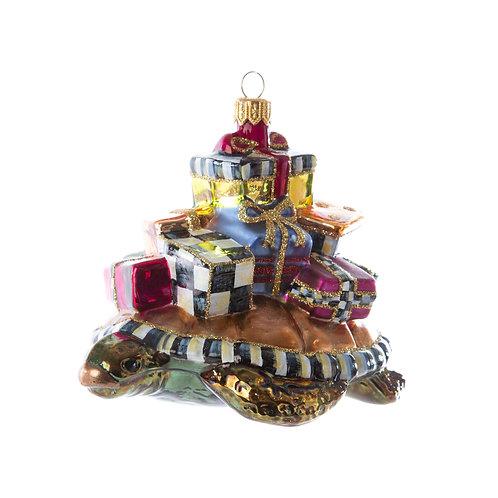 Glass Ornament - Paradise Turtle
