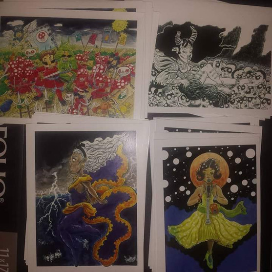 Gerald Benton Prints