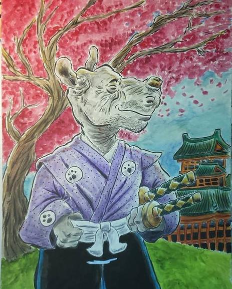 Gen from Stan Sakai , Usagi Yojimbo