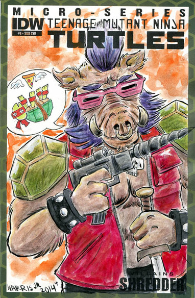 Bebop Sketch Cover