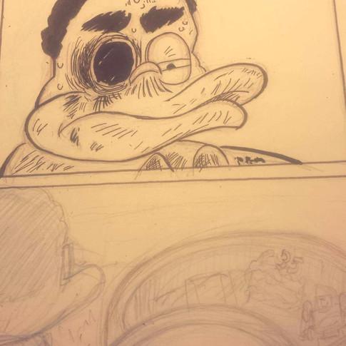 35 Process shot, inks