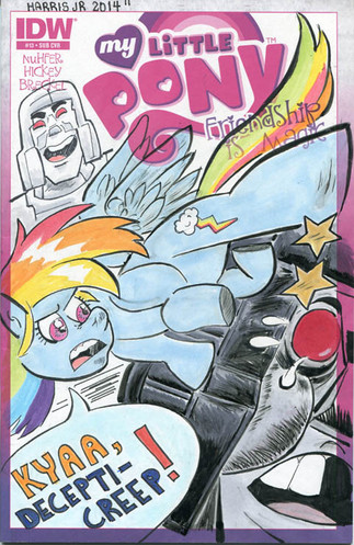 My Little Pony Sketch Cover