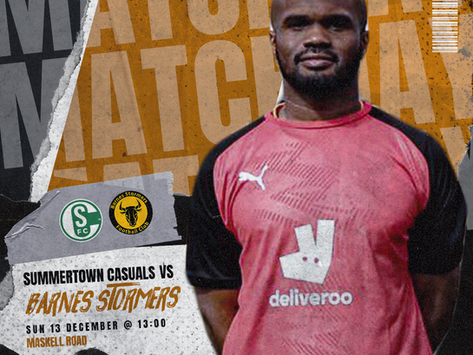 Match Preview | Summerstown Casuals FC