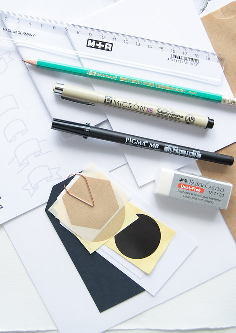DIY-pakket Handletteren