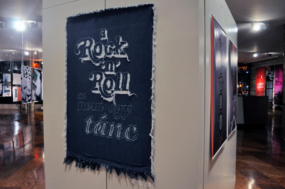 Rock n Roll is not a Dance - handmade poster
