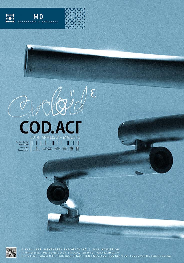 Cycloid exhibition poster design
