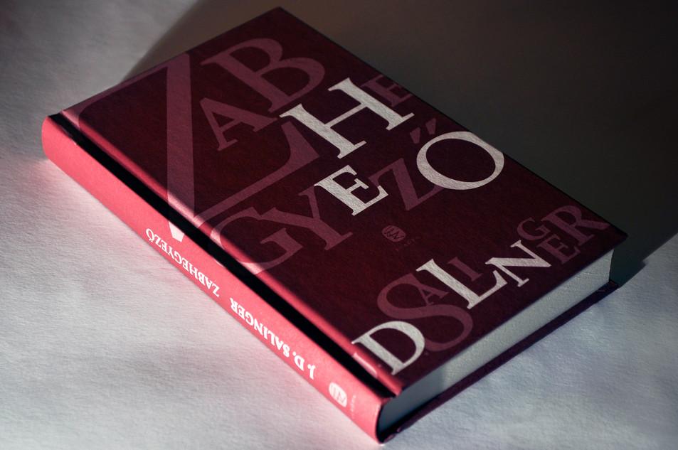 Salinger book cover design