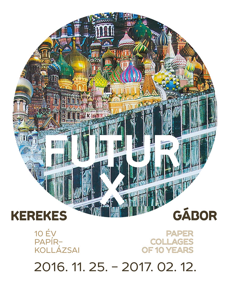 Kerekes Gábor exhibition poster