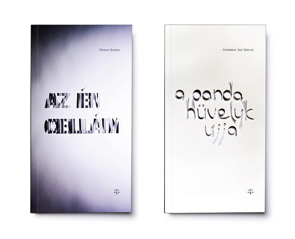 Mérleg könyvek cover designs - kafka, Gould