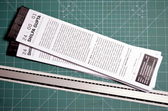 Shilpa Gupta exhibition design