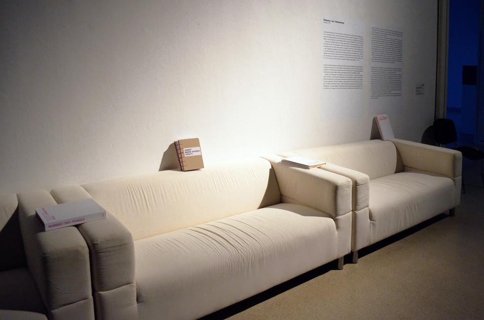 Entropy of a City exhibition design