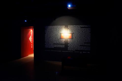 Eli Cortinas exhibition design
