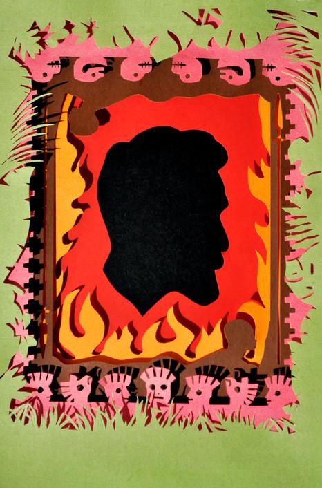Vargas Llosa book cover design