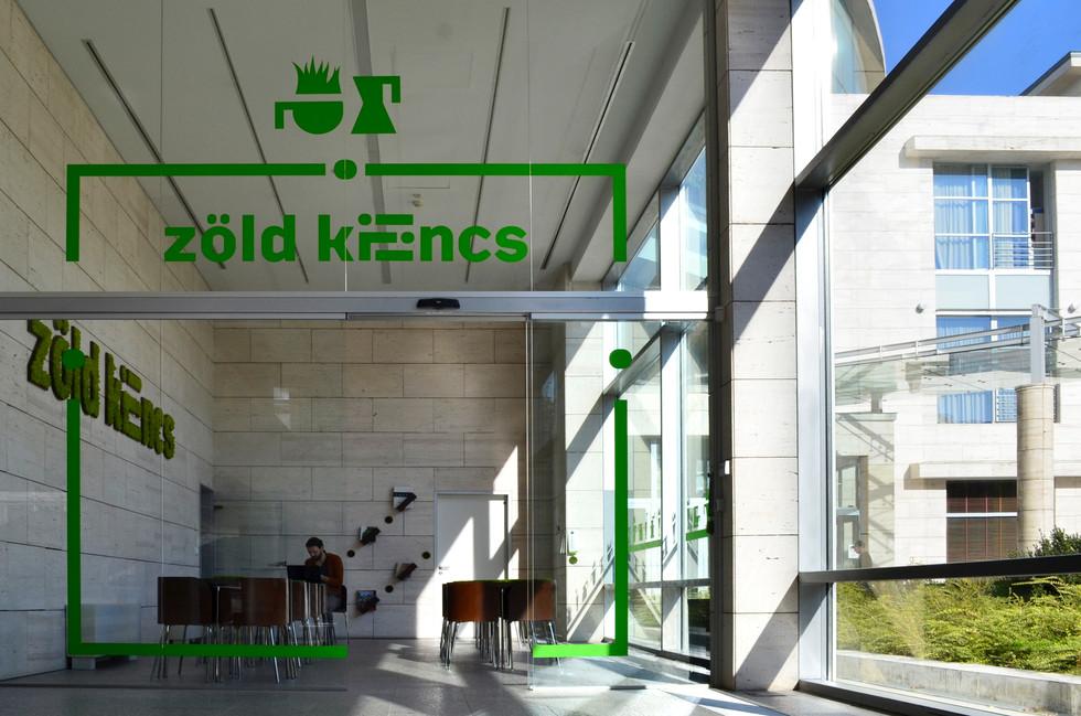 zöld kilincs cafe