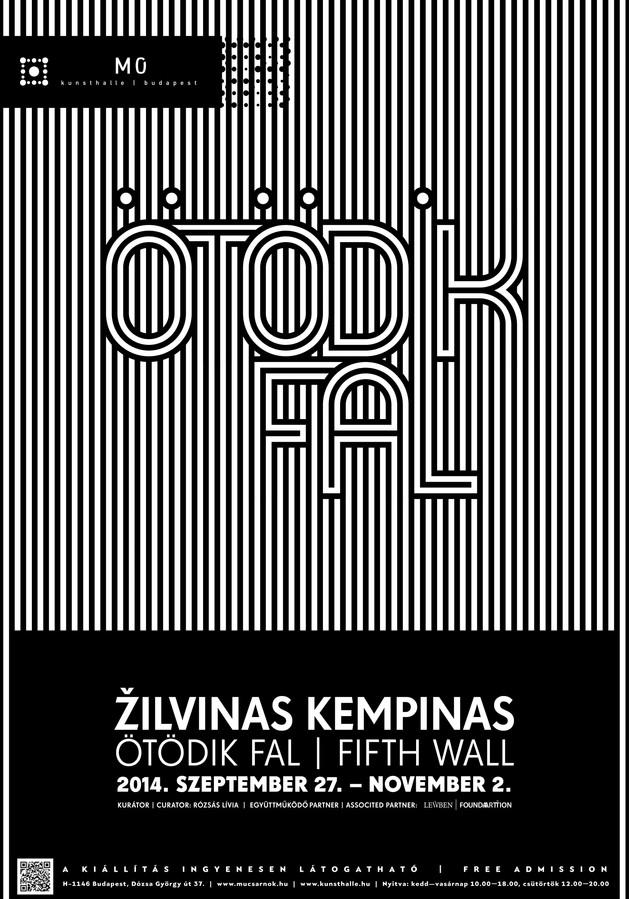 Žilvinas Kempinas exhibition poster