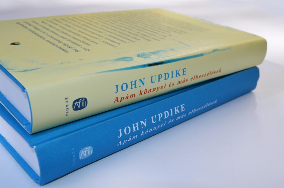Updike book cover design