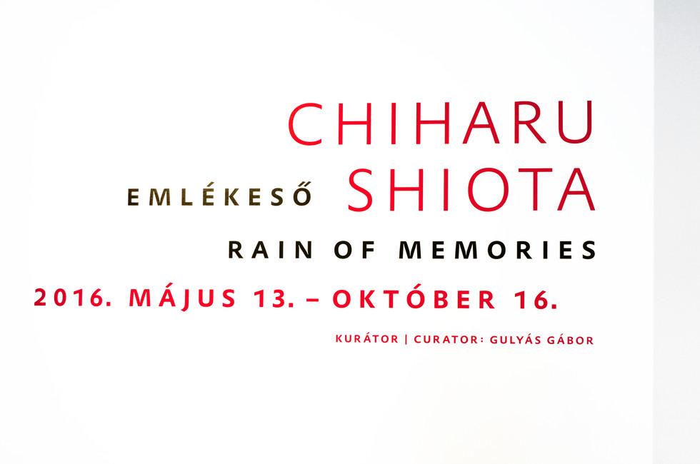 Shiota exhibition