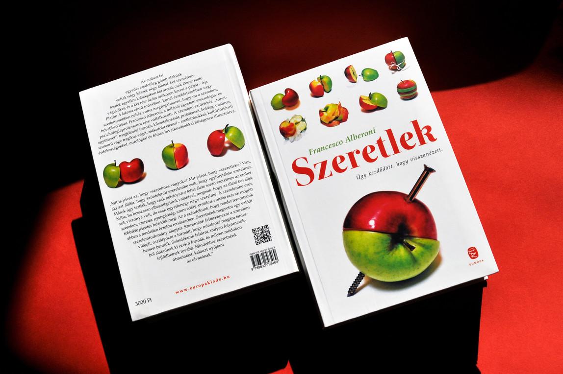 Alberoni book cover design