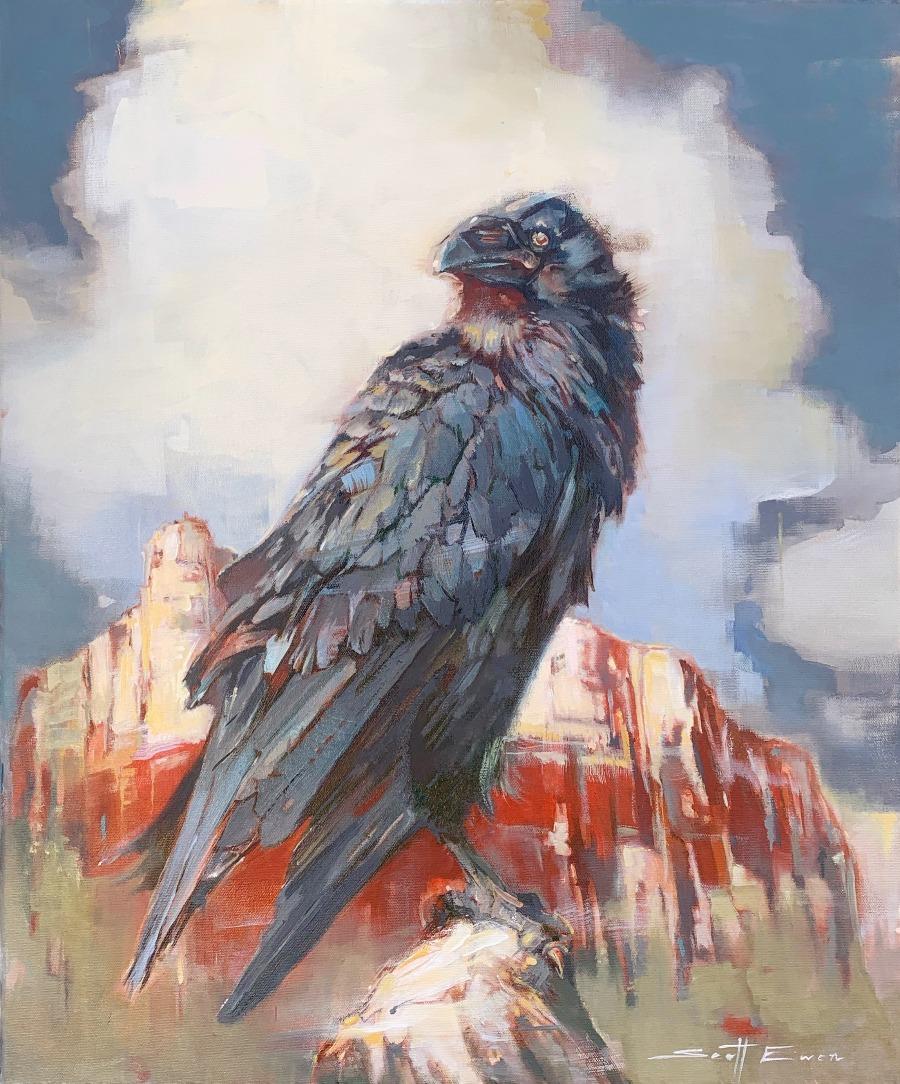 Red Rocks Raven #2