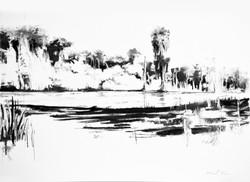 Charcoal Landscape 2