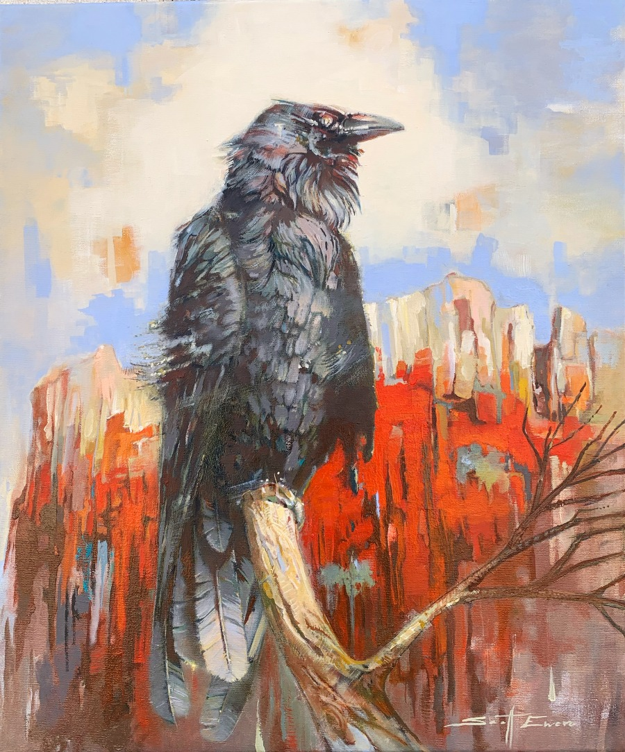 Red Rocks Raven #1