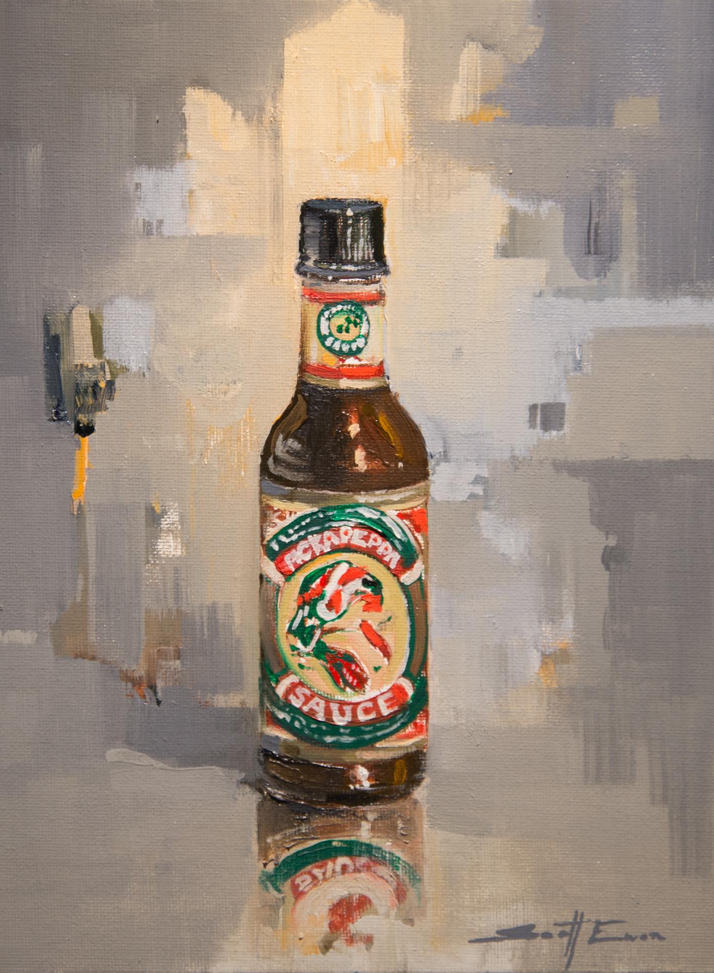 Bottle of Pickappepa Sauce