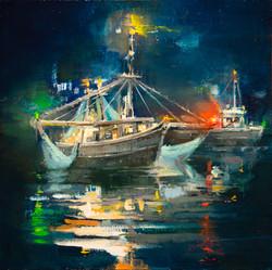 Trawlers at Night
