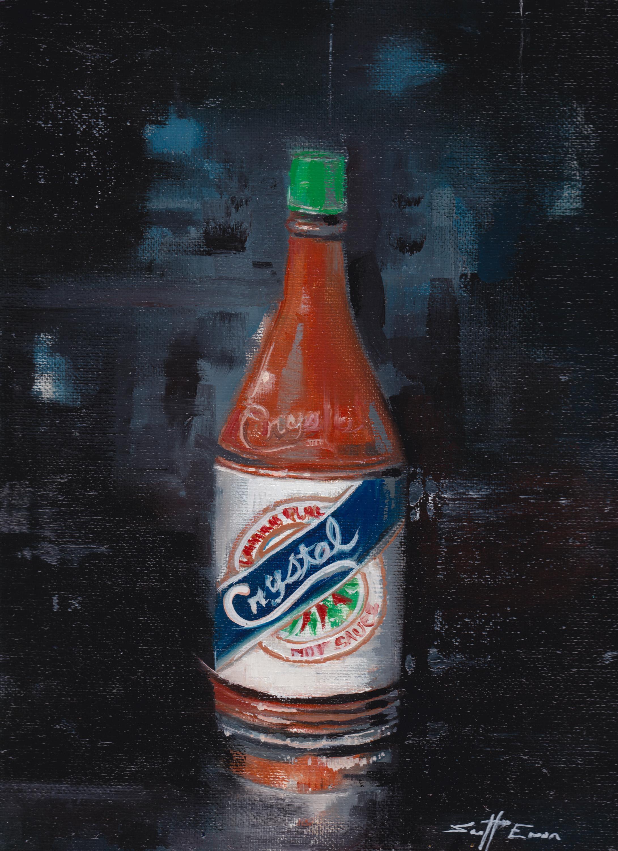 5oz Bottle of Crystal Hot Sauce