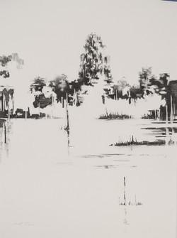 Charcoal Landscape 1