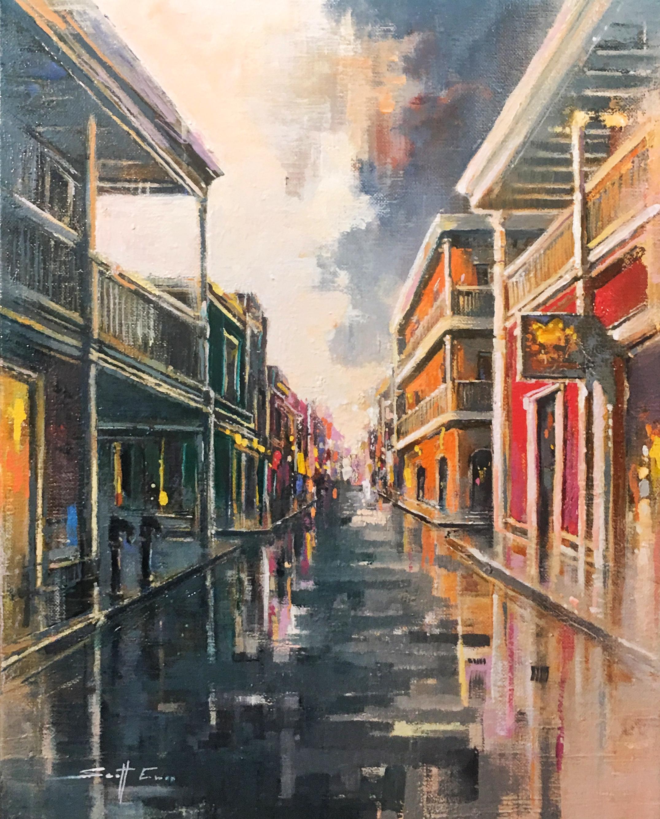 French Quarter Side Street