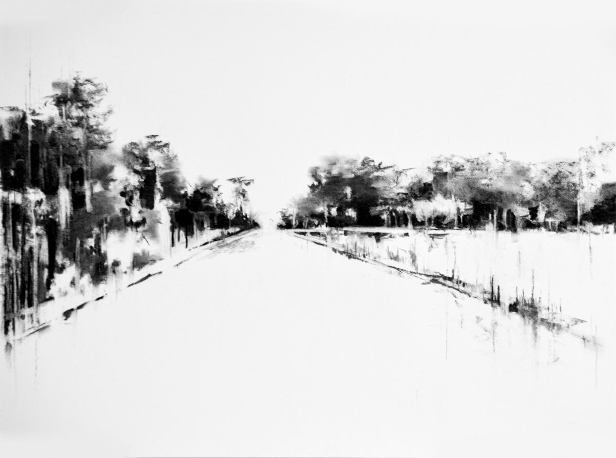 Charcoal Landscape 11