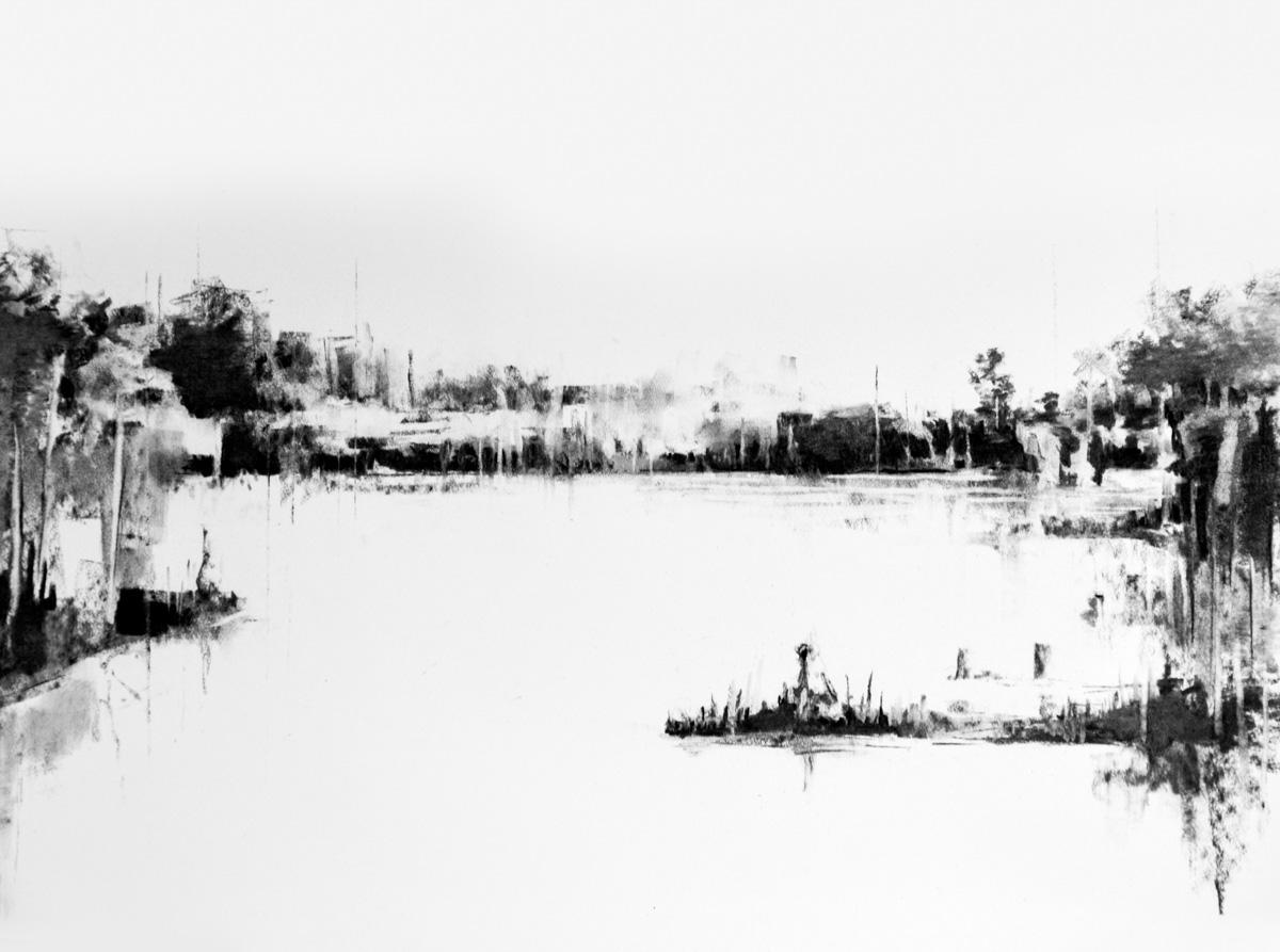 Charcoal Landscape 12
