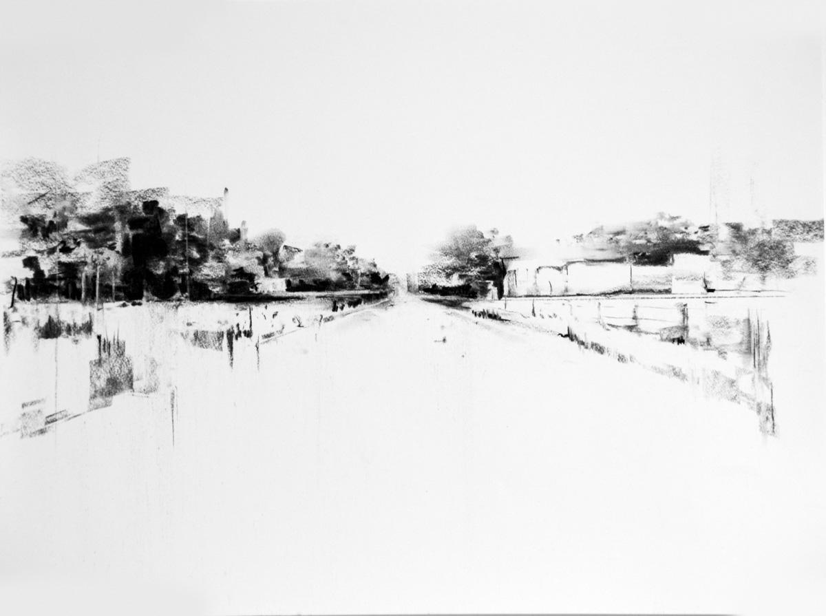 Charcoal Landscape 9
