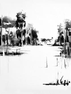 Charcoal Landscape 4