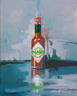 Bottle of Tabasco