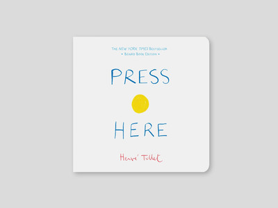 Book Review: Press Here - Hervé Tullet