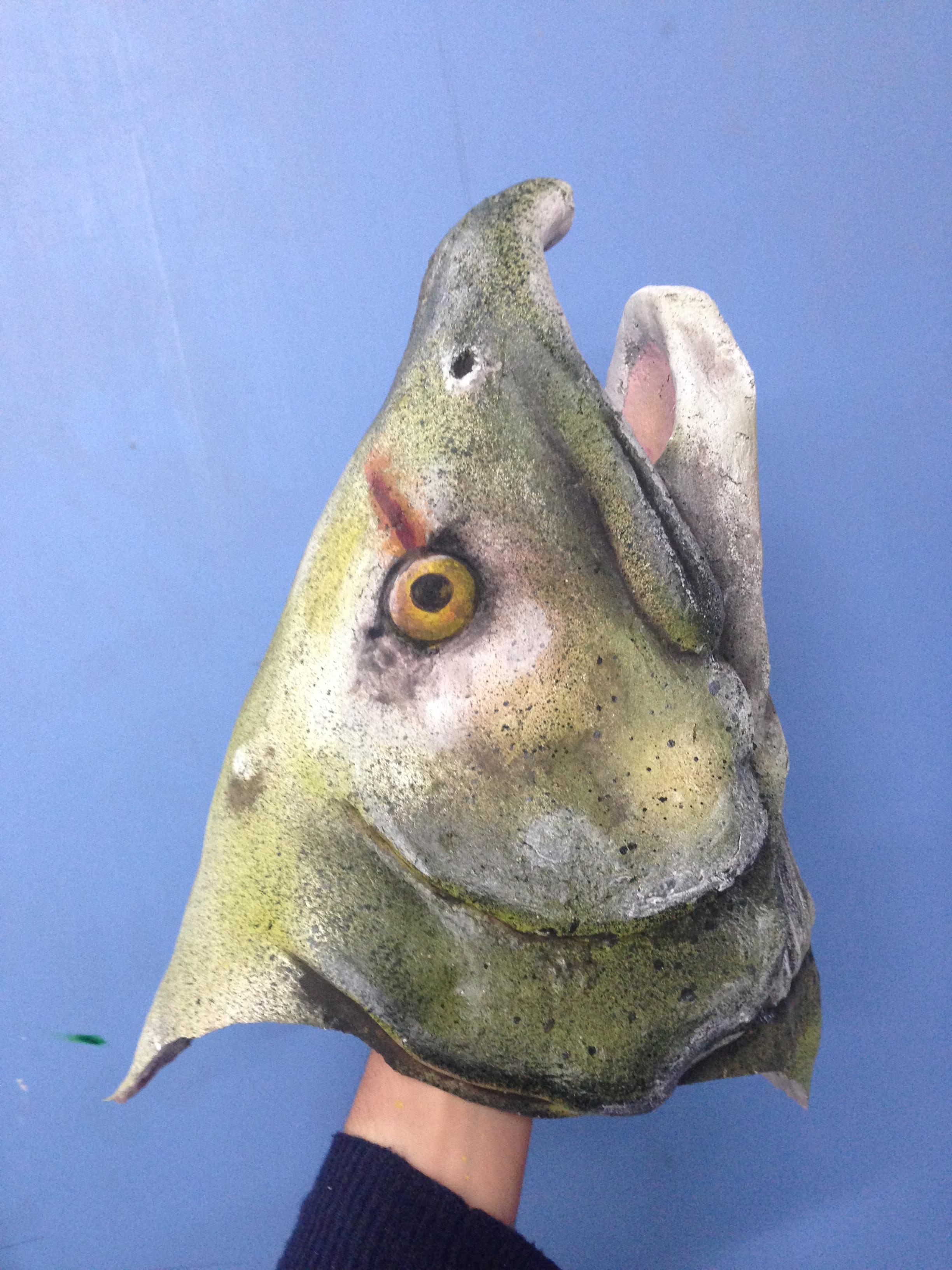 Foam Fish Head