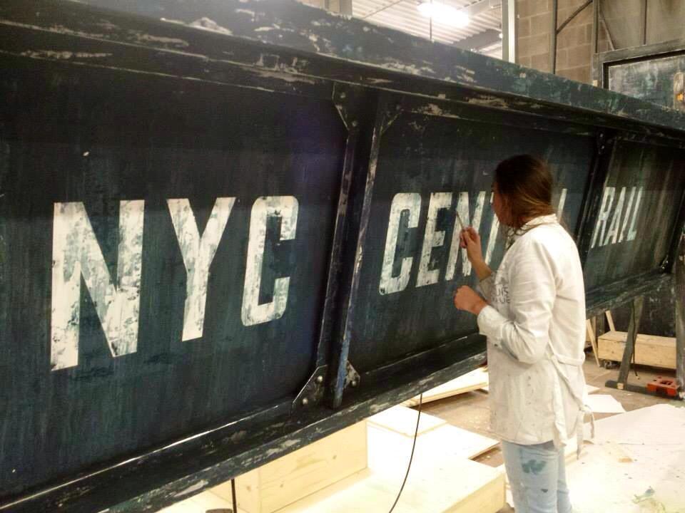 Painting the Rail Bridge