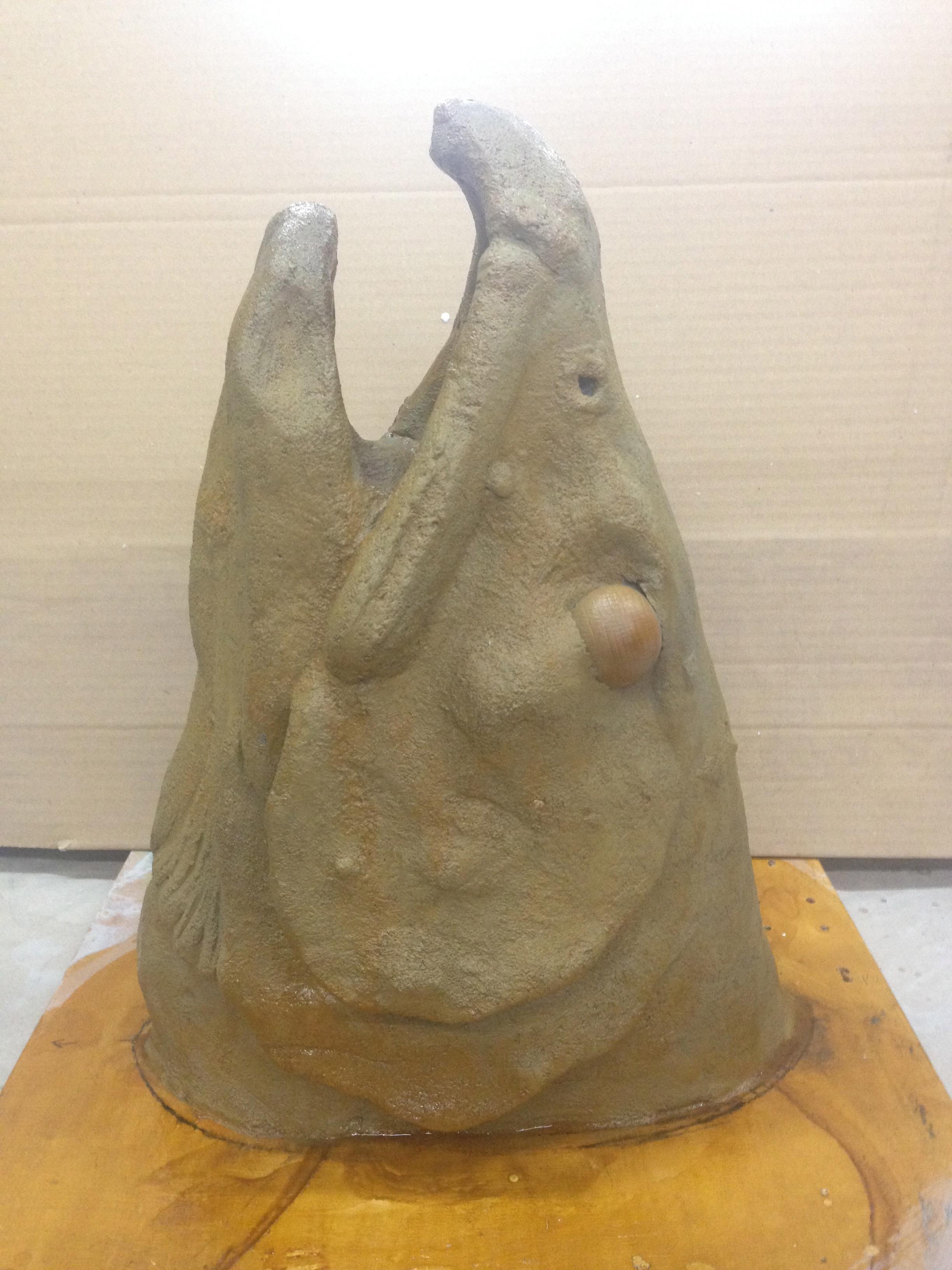 Fish Head Sculpt