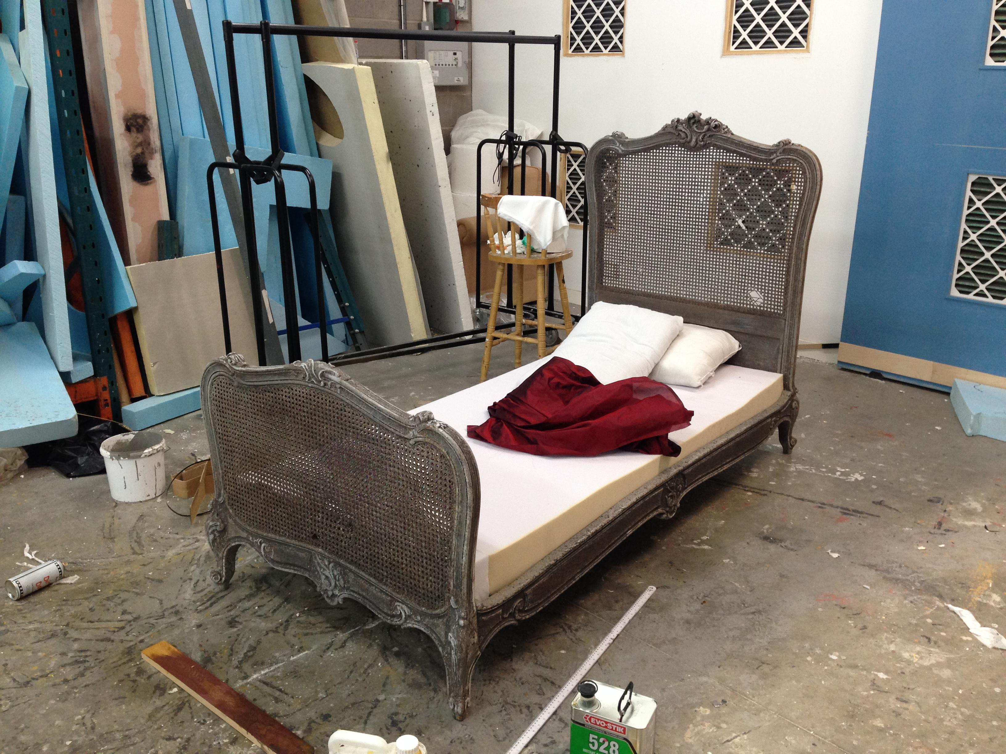 Painted Bedframe