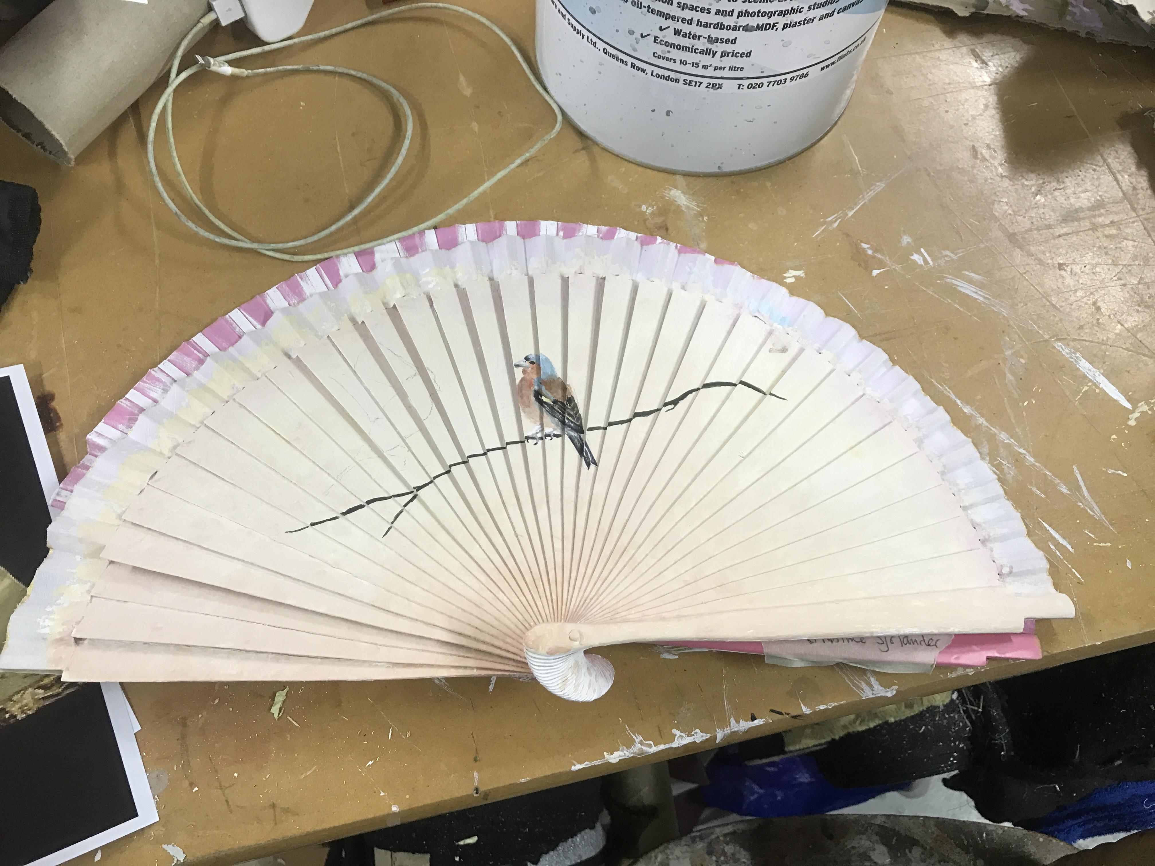 Handpainted Fans