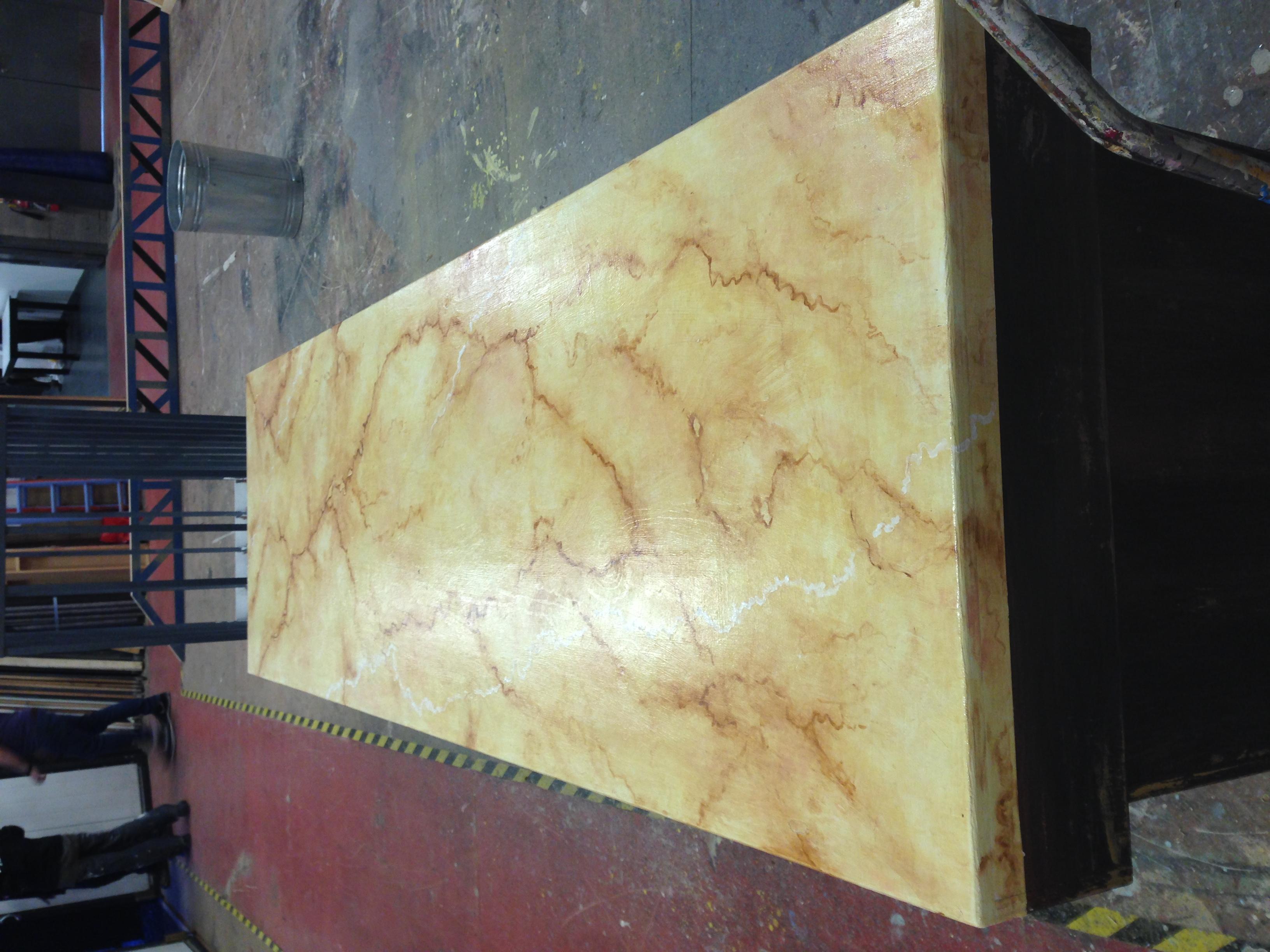 Effets marbres et bois