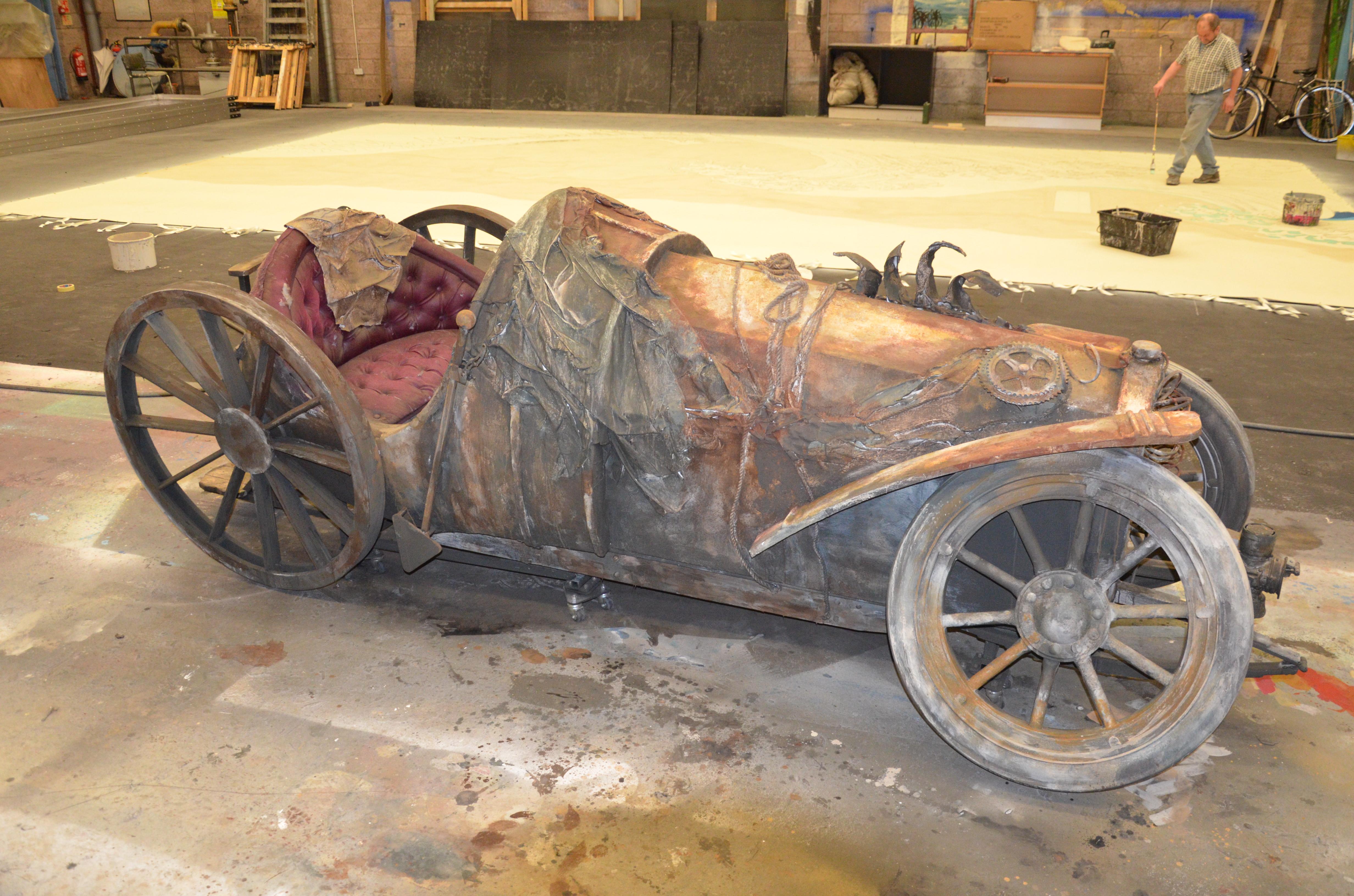 Chitty Chitty Bang Bang Car