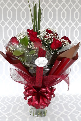 cópia de Buquê de Rosas nacionais Vermelhas
